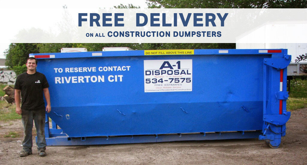 Rent a Dumpster with FREE Delivery in Utah   A-1 Disposal
