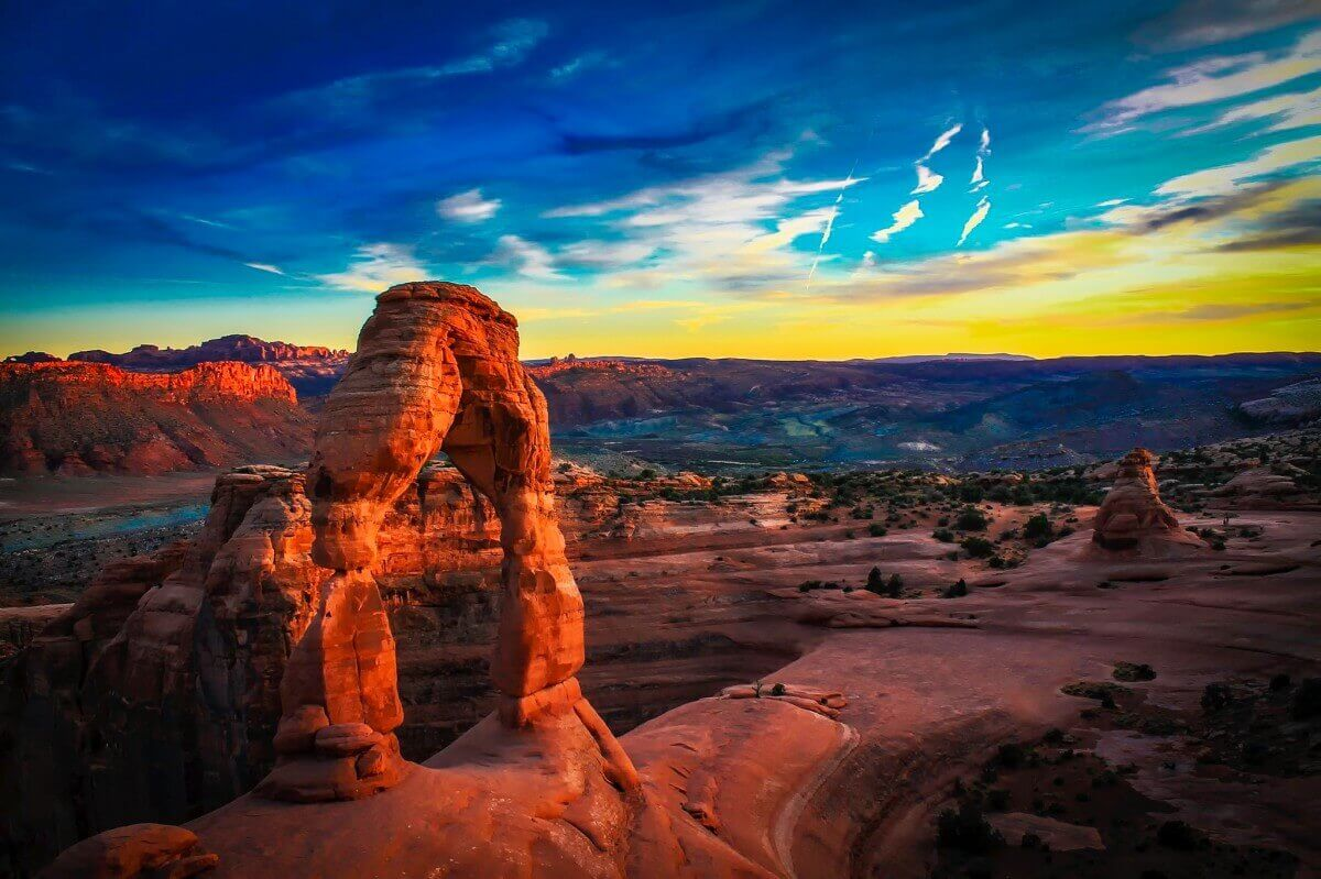 Arches-National-Park-Utah-Air-And-Water-Quality-of-Utah
